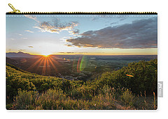 Carry-all Pouch featuring the photograph Last Rays by Margaret Pitcher