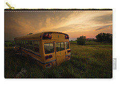 Carry-all Pouch featuring the photograph Last Stop  by Aaron J Groen