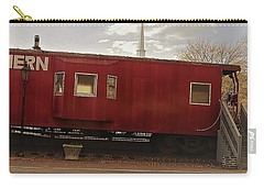 Carry-all Pouch featuring the photograph Last Stop by Aaron Martens