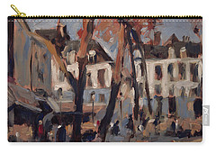 Last Sunbeams Our Lady Square Maastricht Carry-all Pouch by Nop Briex