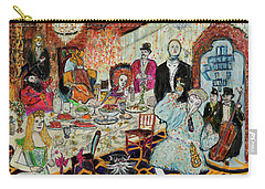 Last Supper, Dark Knight Carry-all Pouch by Lindsay Strubbe
