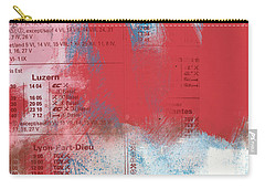 Last Train To Paris- Art By Linda Woods Carry-all Pouch