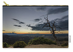 Carry-all Pouch featuring the photograph Last Tree Standing by Margaret Pitcher