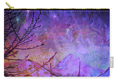 Carry-all Pouch featuring the painting Last Twinkling Before Dawn by Anastasia Savage Ealy