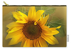 Last Years Sunflower Carry-all Pouch