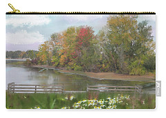 Lasting Autumn Flowers Carry-all Pouch
