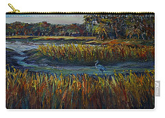 Carry-all Pouch featuring the painting Late Afternoon by Dorothy Allston Rogers