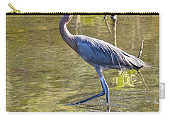 Carry-all Pouch featuring the photograph Late Afternoon Fishing Expedition  by Carol Bradley
