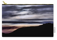 Late Afternoon Glow - Pescadero Carry-all Pouch by Bob Wall
