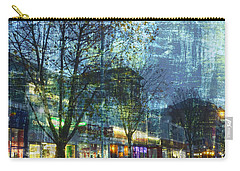 Carry-all Pouch featuring the photograph Late Afternoon In Autumn by LemonArt Photography