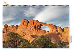 Late Afternoon Light On Skyline Arch Carry-all Pouch