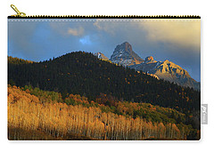 Carry-all Pouch featuring the photograph Late Afternoon Light On The San Juans by Jetson Nguyen