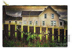 Carry-all Pouch featuring the photograph Late Afternoon Storm by Craig J Satterlee