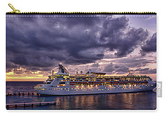 Late Arrival In Cozumel Carry-all Pouch