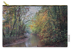 Late Autumn Afternoon Carry-all Pouch by John Rivera