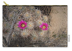 Late Bloomer Carry-all Pouch by Angela J Wright