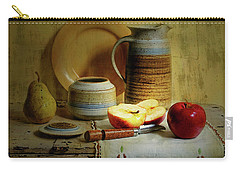 Carry-all Pouch featuring the photograph Late Day Break by Diana Angstadt