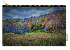 Late Fall On Green Knob Trail Carry-all Pouch
