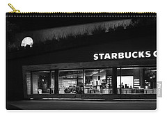 Carry-all Pouch featuring the photograph Late Night At The Bucs by David Lee Thompson