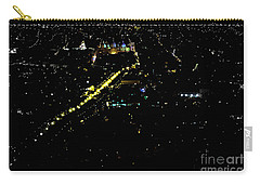 Carry-all Pouch featuring the photograph Late Night In Cuenca, Ecuador by Al Bourassa