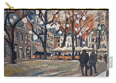 Late November At The Our Lady Square Maastricht Carry-all Pouch by Nop Briex