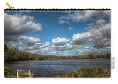 Late October, Belmont Lake Carry-all Pouch