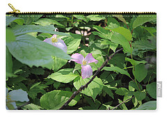 Late Season Trillium Carry-all Pouch