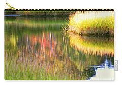 Stillness Of Late Summer Marsh  Carry-all Pouch