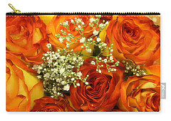 Late Summer Roses Carry-all Pouch by Dora Sofia Caputo Photographic Art and Design