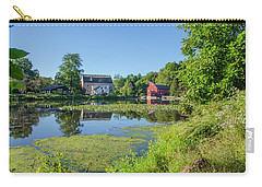Late Summer - The Red Mill  On The Raritan River - Clinton New J Carry-all Pouch by Bill Cannon