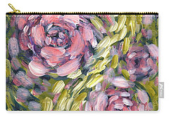 Carry-all Pouch featuring the digital art Late Summer Whirl by Holly Carmichael