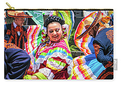 Latino Street Festival Dancers Carry-all Pouch