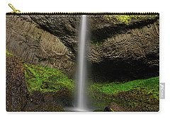 Latourell Falls Carry-all Pouch by Jonathan Davison