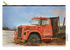 Carry-all Pouch featuring the photograph Latsha Lumber Truck by Lori Deiter