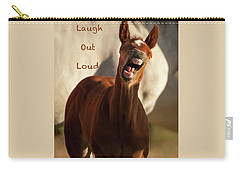 Laugh Out Loud Carry-all Pouch