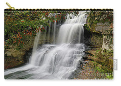 Laughing Whitefish Falls Carry-all Pouch by Rachel Cohen