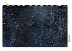 Eat At Judys Laura Palmer Carrie Page Nebula Carry-all Pouch