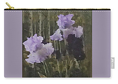 Laura's Irises Carry-all Pouch