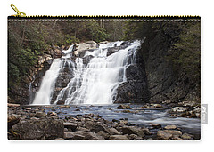 Laurel Falls In Spring #1 Carry-all Pouch by Jeff Severson