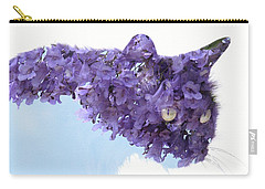 Laurel Tree In Cat Carry-all Pouch
