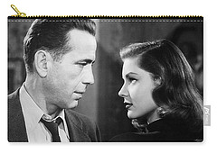 Lauren Bacall Humphrey Bogart Film Noir Classic The Big Sleep 2 1945-2015 Carry-all Pouch by David Lee Guss