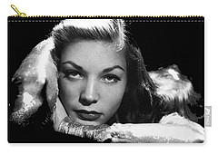 Lauren Bacall Publicity Photo Circa 1945-2015 Carry-all Pouch by David Lee Guss