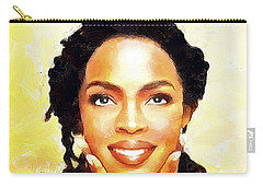 Lauryn Hill Carry-all Pouch by Wayne Pascall