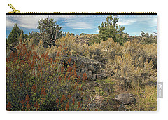 Lava Formations Carry-all Pouch by Cindy Murphy - NightVisions