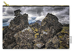 Lava Rock And Clouds Carry-all Pouch
