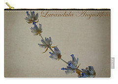 Lavandula Angustifolia Carry-all Pouch