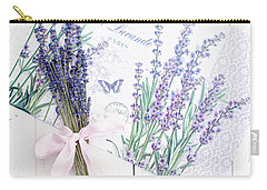 Carry-all Pouch featuring the photograph Lavende by Rebecca Cozart