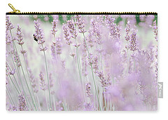 Carry-all Pouch featuring the photograph Lavender 6 by Andrea Anderegg