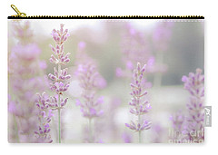 Carry-all Pouch featuring the photograph Lavender 7  by Andrea Anderegg
