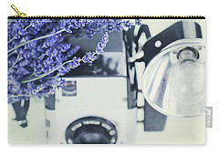 Lavender And Kodak Brownie Camera Carry-all Pouch